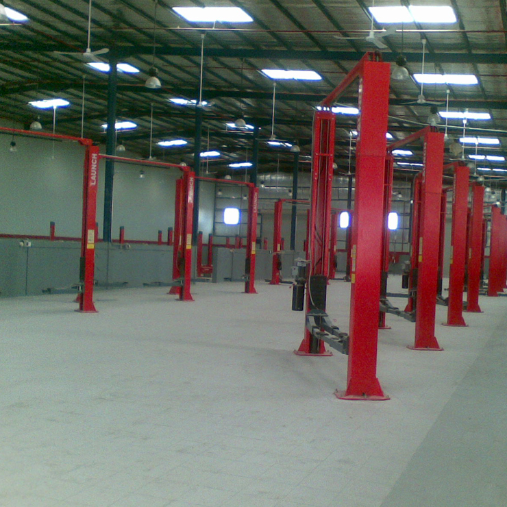 Building Specialized Contracting CO - KIA Showroom