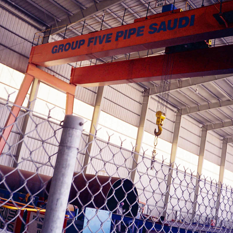 Building Specialized Contracting CO - Group 5 Pipe Factory