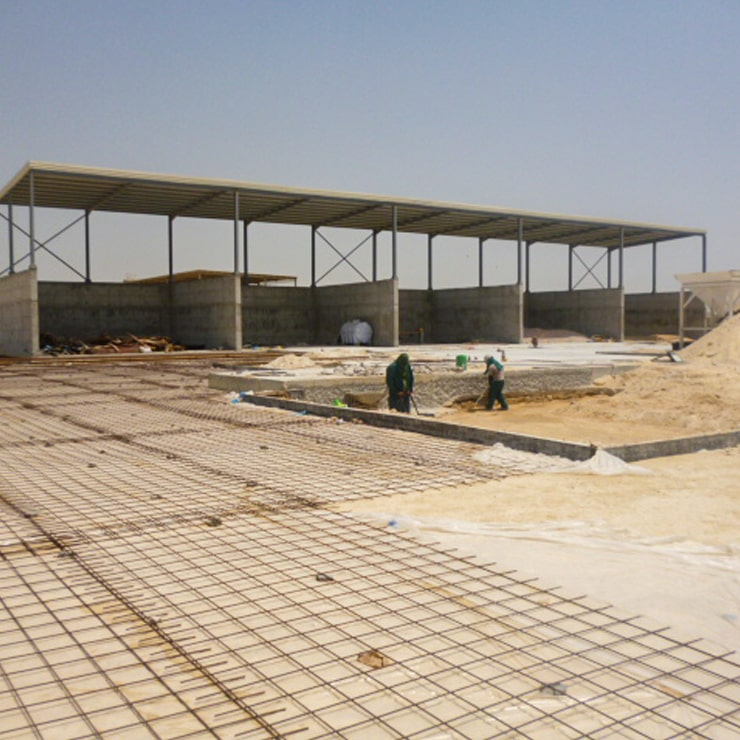 Building Specialized Contracting CO - Saudi ready mix